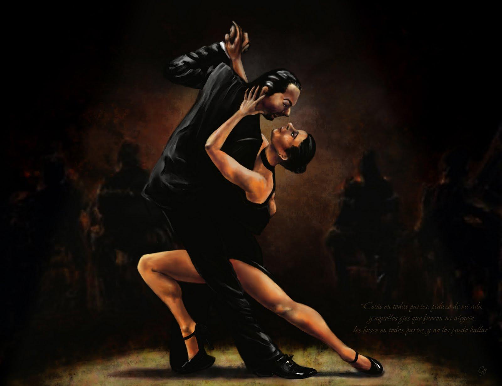 Tango on Tango Steps